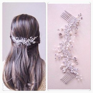Bridal hair comb Wedding Hair Vine bridal hair vinewedding   Etsy
