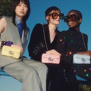 大量上新!马卡龙色系加入Gucci Mini包好价持续热卖 一包9背经典又划算
