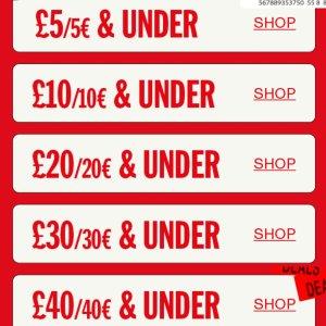 2.5折起 £10收Gucci平替丝袜Urban Outfitters £5左右 £40以下 白菜价专区 收早春穿搭