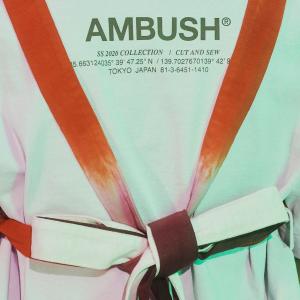 低至3.5折 $344 get凡凡同款AMBUSH 卫衣、T恤、配饰热卖
