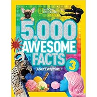 National Geographic Kids 童书 5,000 个超棒的事