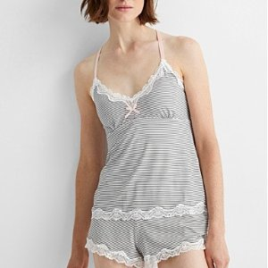 低至3.3折+再减$25上新:Simons 家居服上新 多款连体衣、猫猫爱心睡裙一律$29