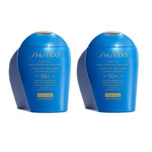 折合¥244/件 + 2组免邮中国Shiseido 新艳阳防护乳 SPF50+ 100ml*2件装 限时8折
