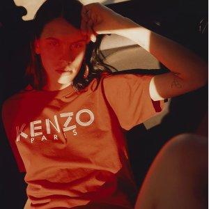 低至5折+免邮 $100+收KENZO卫衣KENZO 夏日特卖会精选热门服饰鞋履包包热卖