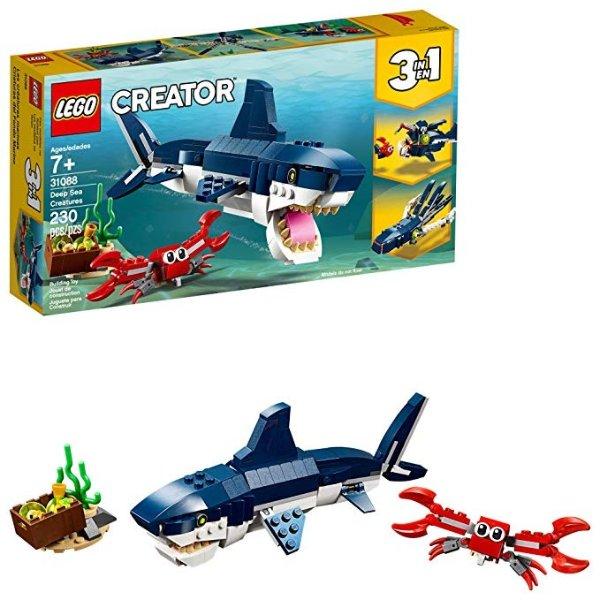 Creator 3合1 深海生物 31088