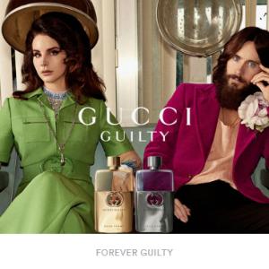 $185,送Gucci化妆包Gucci Guilty 罪爱香水 打雷姐、莱托少爷代言