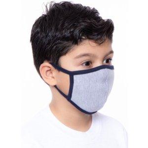 8.5折+免运费 低至$7.61每个独家:Label Land 儿童双层棉质口罩 ,可重复使用