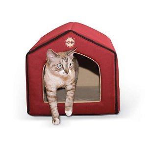 K&HRed and Tan Indoor Pet House | Petco