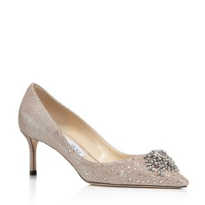 903b5e80a2e Jimmy ChooWomen s Joan 60 Glitter Mesh   Leather Pointed Toe Mid Heel  Pumps.  585.00  975.00. Jimmy Choo Women s ...