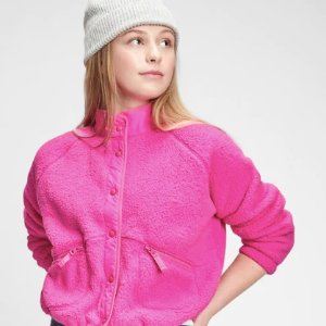 封面外套$18 编织衫$4.79GAP官网 儿童婴儿服饰、鞋履特价区低至2.5折+额外6折