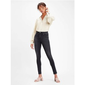 Levi's721™高腰紧身牛仔裤