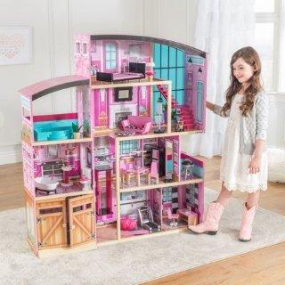 低至5折KidKraft 娃娃屋,火车桌等玩具网络星期一大促