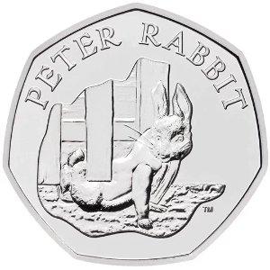 The Royal Mint50P 纪念币