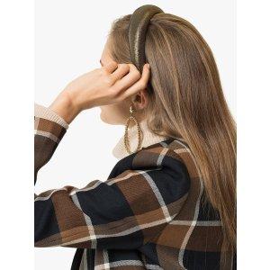 Jennifer BehrThada metallic-sheen hairband