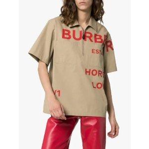 Burberry新款logo上衣