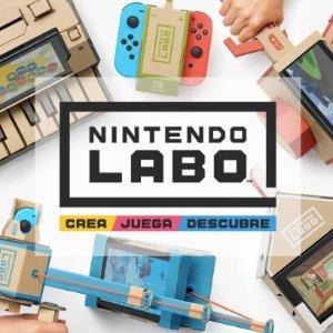 Nintendo Labo 已发售任天堂 推出 Nintendo Switch 新玩法