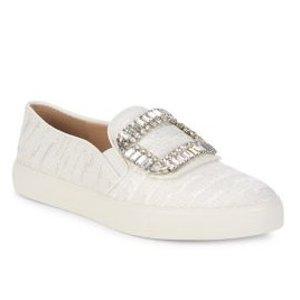 0b1200d6879 Karl Lagerfeld ParisErmine 2 Embellished Slip-On Sneakers