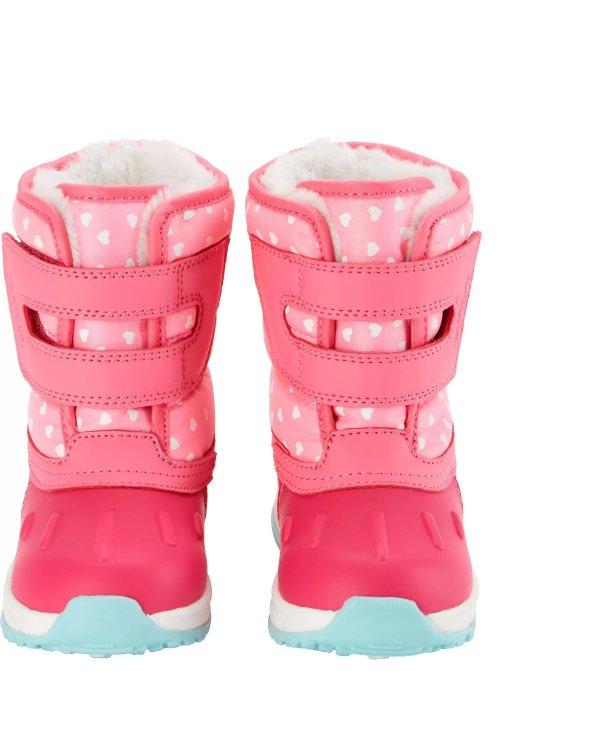 小童保暖雪地靴