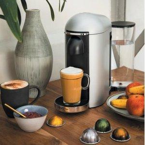 6.7折,5色可选,节能Nespresso 胶囊咖啡机