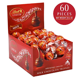 $10.02Lindt 瑞士莲牛奶软心巧克力 60颗