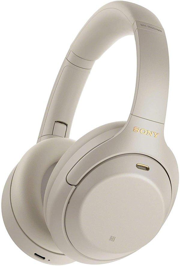 WH-1000XM4 主动降噪无线耳机 银色