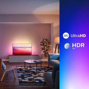 Philips 50英寸4K超高清智能电视 买就送soundbar条形音箱