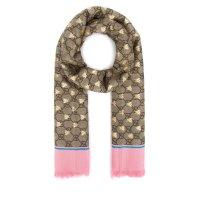 Gucci GG Motif 小蜜蜂围巾