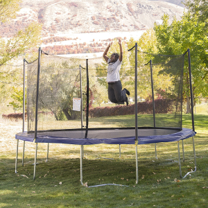 Today Only:$219ActivPlay Round Trampoline with Safety Enclosure and Spring Pad @ Amazon.com