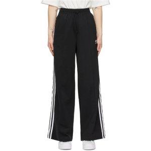 adidas Originals三道杠阔腿裤