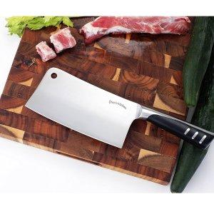 $12.99 (原价$16.99)Utopia Kitchen 7寸不锈钢菜刀/剁骨刀