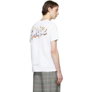 Off-White印花T恤