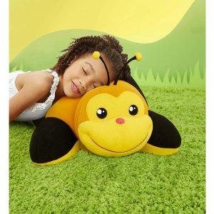 $30.00 (原价$59.99)史低价:Little Tikes 儿童软萌蜜蜂小车 可用做枕头