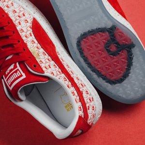 6折Puma x Hello Kitty 合作款麂皮儿童运动鞋