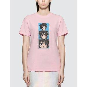 Pleasures动漫人物T恤