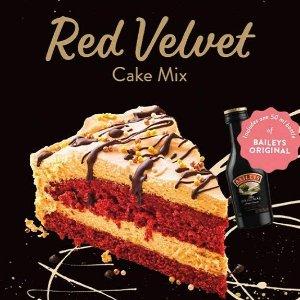 仅售€4.99 含50ml原版百利甜RUF×百利甜 红丝绒蛋糕制作包 简便快手 烘焙小白也可以很厉害