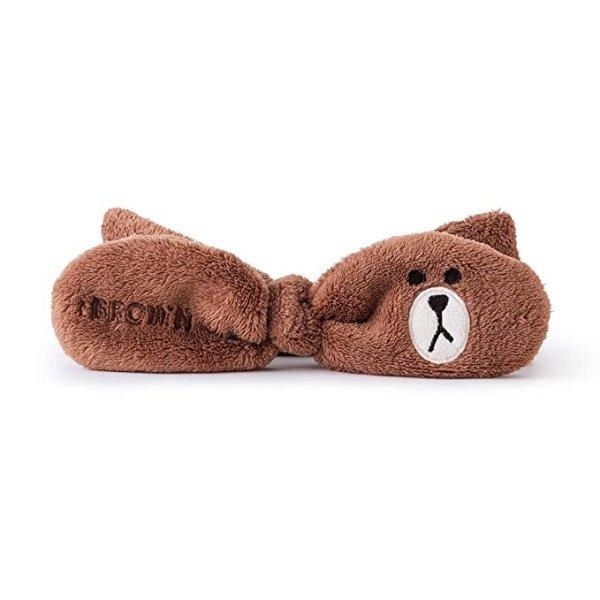 布朗熊 蝴蝶结发带
