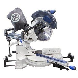 Kobalt 10 In 15 Amp Single Bevel Sliding Compound Laser Miter Saw Dealmoon