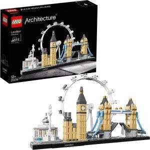 现货仅需$59.99LEGO 乐高 Architecture 建筑系列 21034 伦敦