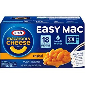 Cheese Microwavable Cups (Pack of 8) $4.5Save Up to 50% on school snacks & beverages