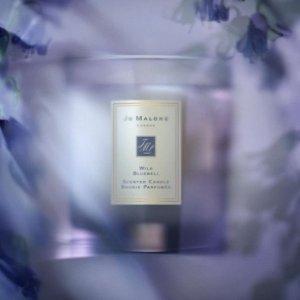 $88,满额送香氛2件套上新:Jo Malone London 蓝风铃香氛蜡烛