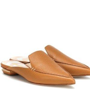 低至5折 封面同款£219收Nicholas Kirkwood美鞋热促 低调中的小气质都在你脚下