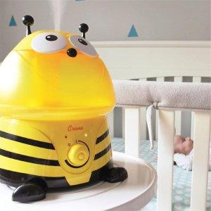 额外8折 造型萌哒哒Crane 儿童家用空气加湿器 保持空气清新舒适