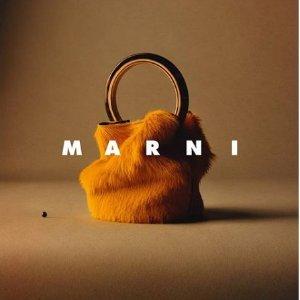 无门槛8.5折 €297收手拿包Marni 经典不过时的水桶包热卖