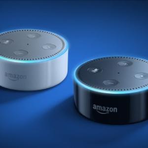 现价£39.99(原价£49.99)Amazon Echo Dot Alexa 2代语音助手