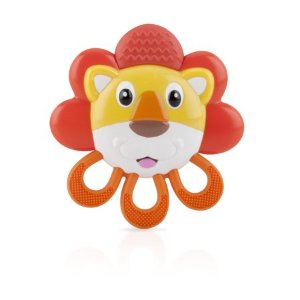 Nuby Vibe-eez Soothing Teether, Lion - Walmart.com