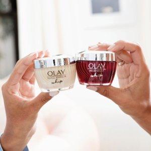 第2件半价Ulta Beauty 精选OLAY护肤品热卖 收大红瓶