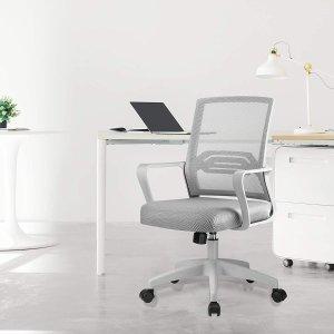 仅售€59.80 原价€79COMHOMA 人体工学办公转椅 居家必备 久坐不疲劳