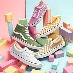 低至2折起 £21Victoria小白鞋Vans、Converse、Puma等休闲鞋奥莱区上新 捡漏超低价