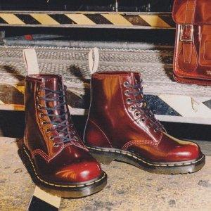 5折起+叠8.5折!1460黑色仅£89Dr.Martens 精选超低价 1460马丁靴、1461小皮鞋断码快!