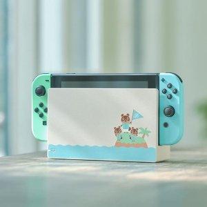 £319.99开始预售,手慢无补货:《动物之森》限定主题 续航增强版 Nintendo Switch